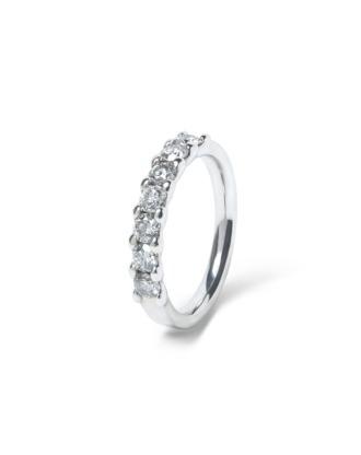 anillo alianza compromiso oro blanco diamantes blancos 7 012  rosich