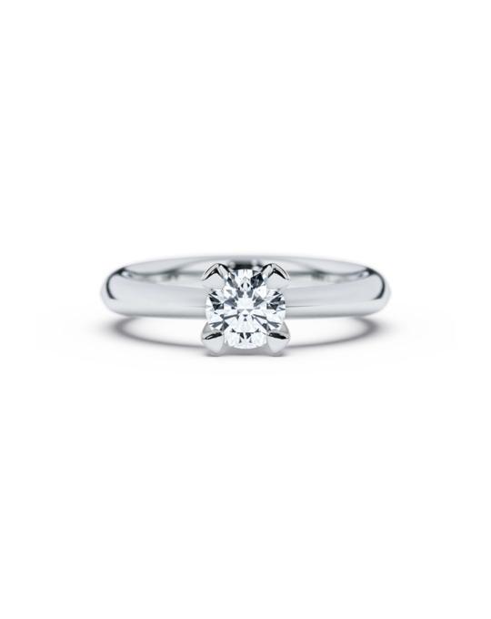 anillo solitario compromiso oro blanco diamantes blanco 070 diamantes rosich