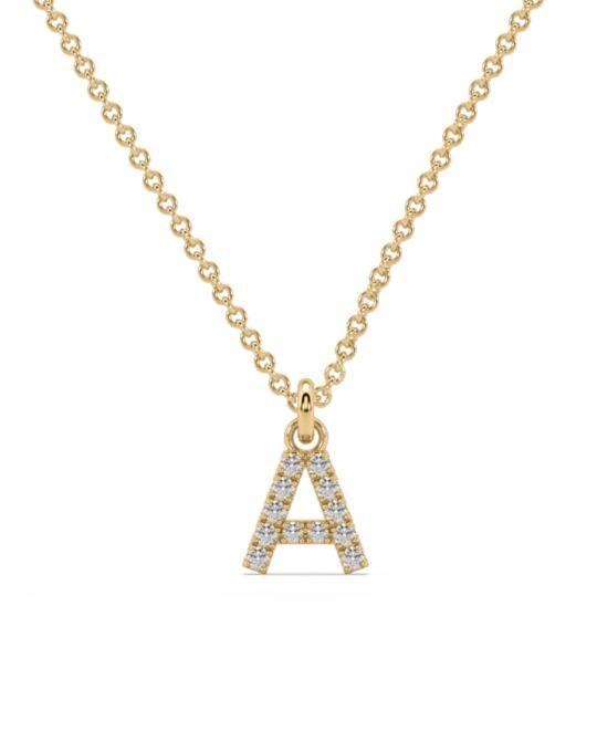 collar identity oro amarillo diamantes blancos rosich
