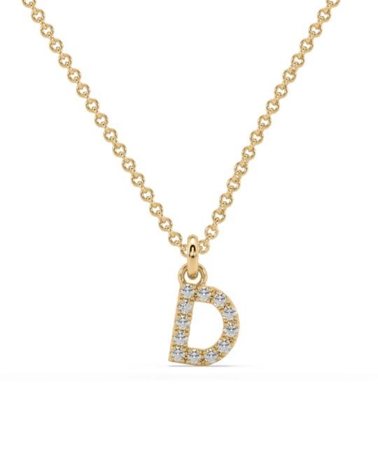collar identity oro amarillo diamantes blancos diamantes  rosich