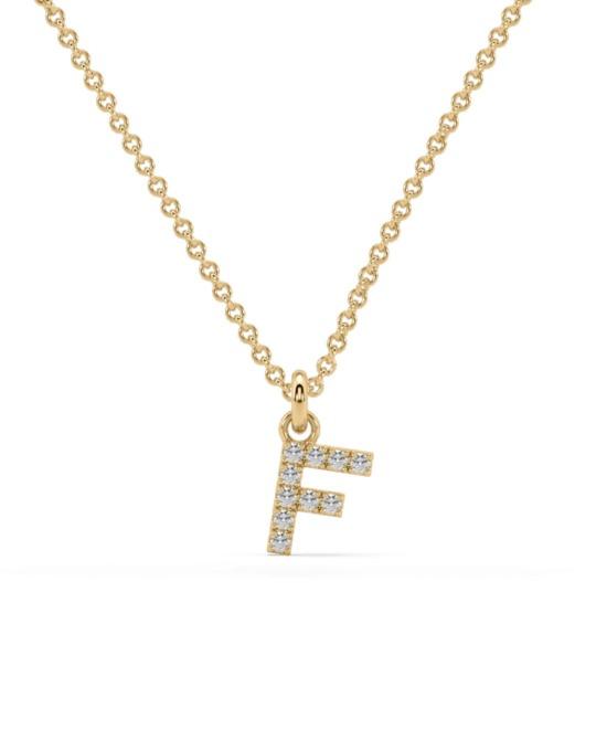 collar identity oro amarillo diamantes blancos F rosich