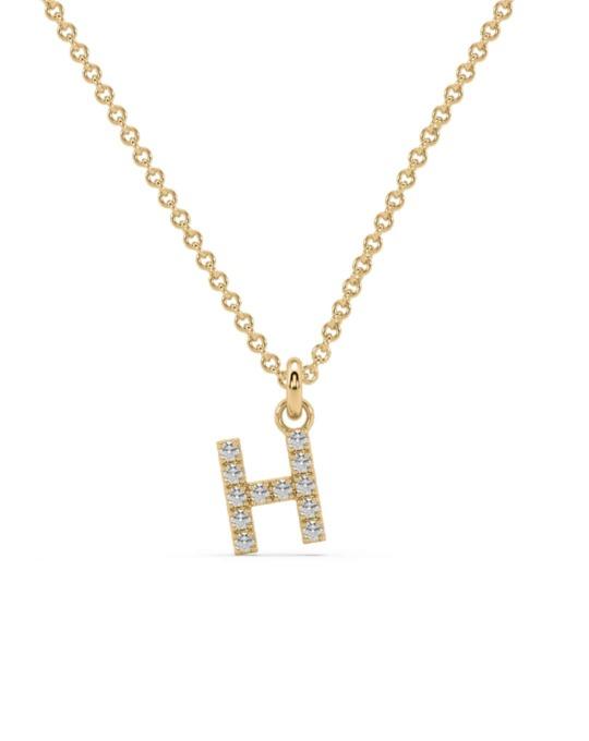 collar identity oro amarillo diamantes blancos H rosich