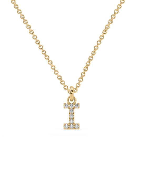 collar identity oro amarillo diamantes blancos I rosich
