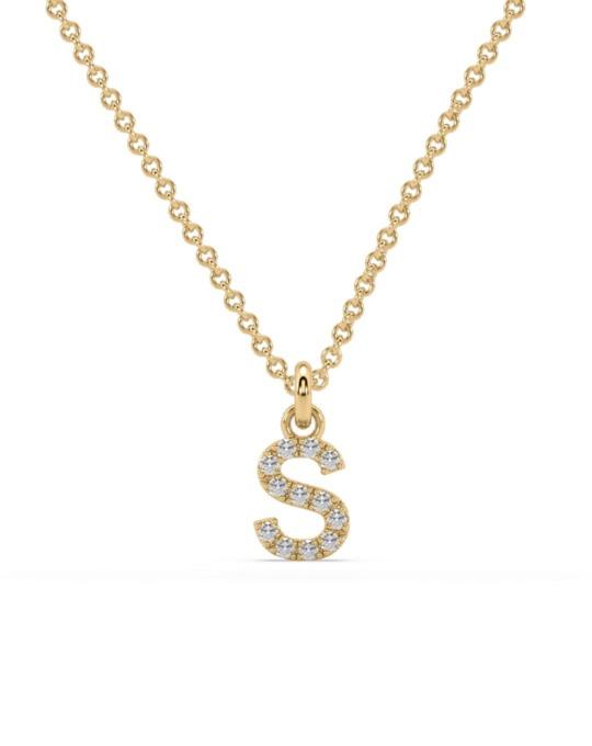 collar identity oro amarillo diamantes blancos S rosich