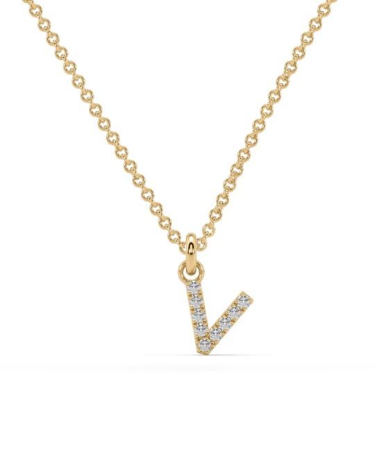 collar identity oro amarillo diamantes blancos V rosich