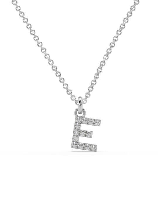 collar identity oro blanco diamantes blancos D rosich