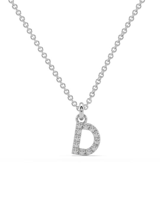 collar identity oro blanco diamantes blancos diamantes  rosich