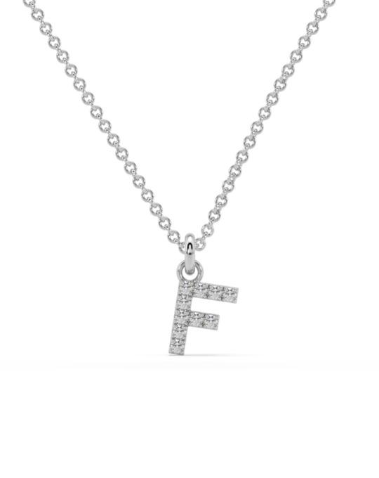 collar identity oro blanco diamantes blancos F rosich