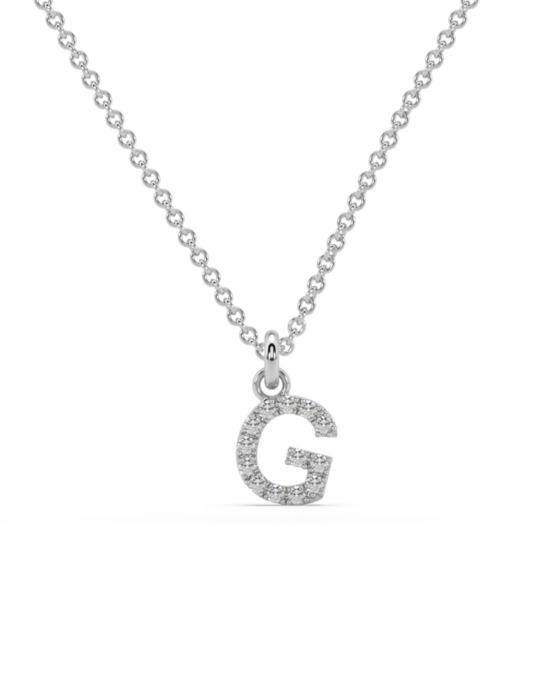 collar identity oro blanco diamantes blancos G rosich