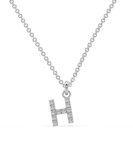 collar identity oro blanco diamantes blancos H rosich