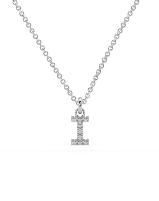 collar identity oro blanco diamantes blancos I rosich