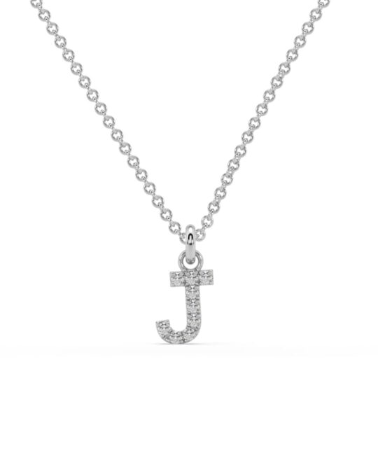 collar identity oro blanco diamantes blancos J rosich