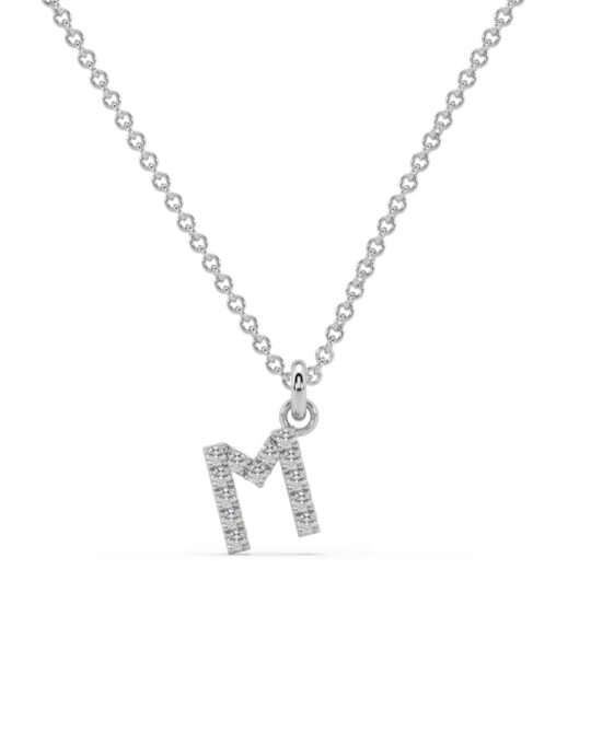 collar identity oro blanco diamantes blancos M rosich