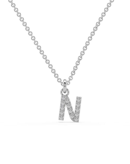 collar identity oro blanco diamantes blancos N rosich