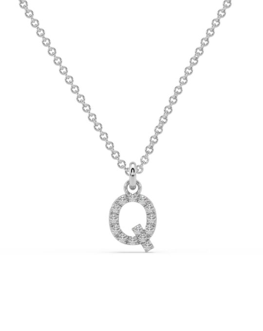 collar identity oro blanco diamantes blancos Q rosich