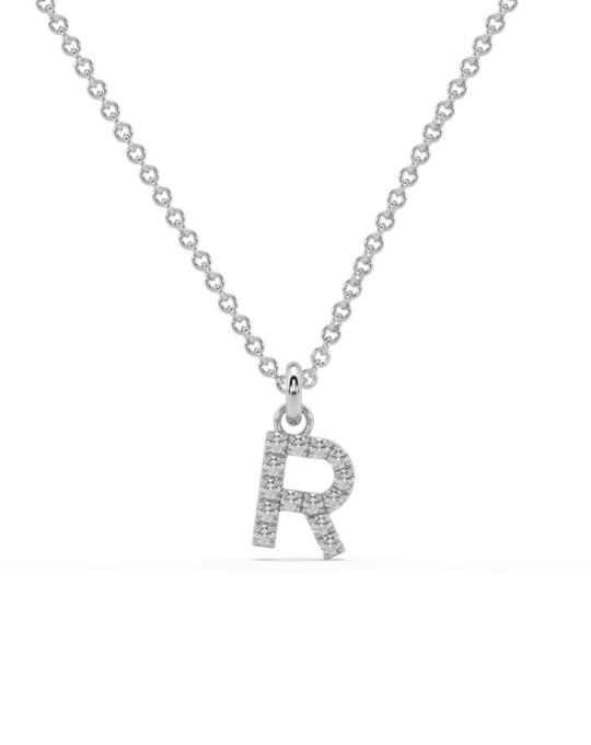 collar identity oro blanco diamantes blancos R rosich