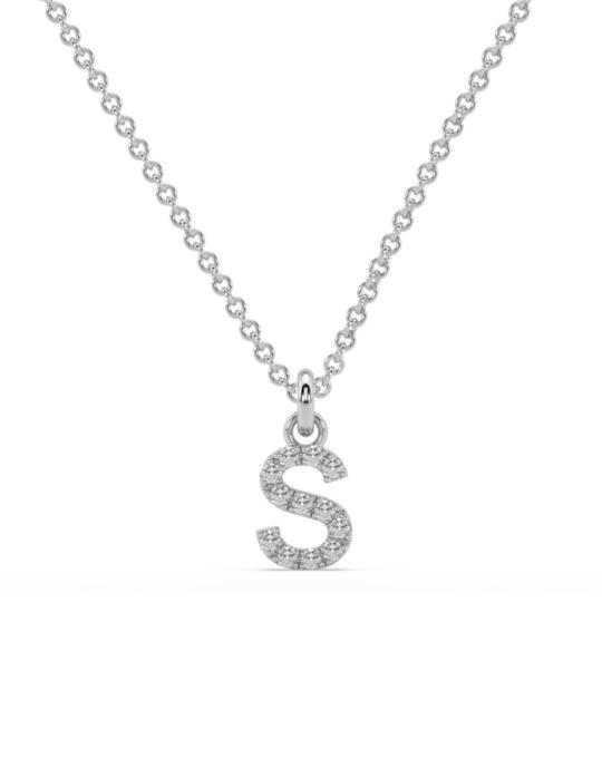 collar identity oro blanco diamantes blancos S rosich