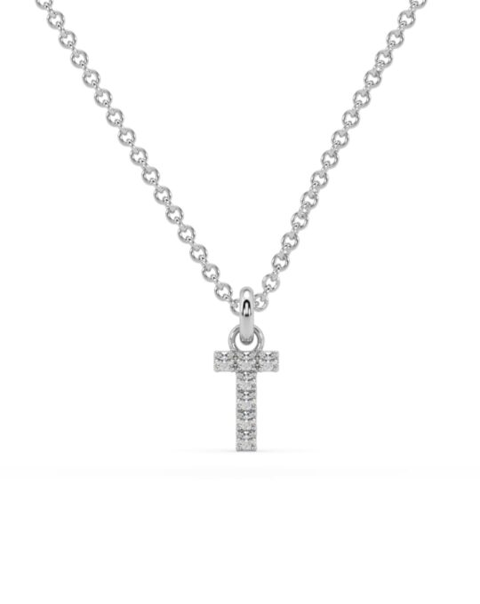 collar identity oro blanco diamantes blancos T rosich
