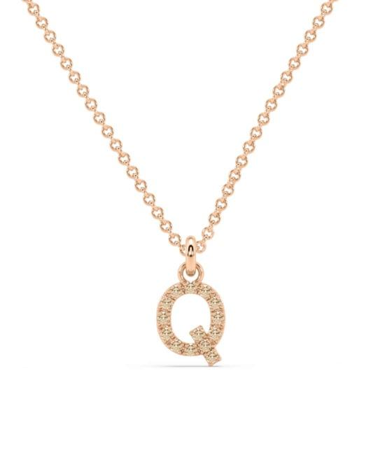 collar identity oro blanco diamantes marrones Q rosich