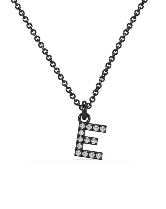 collar identity oro negro diamantes blancos D rosich