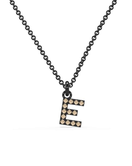 collar identity oro negro diamantes marrones D rosich