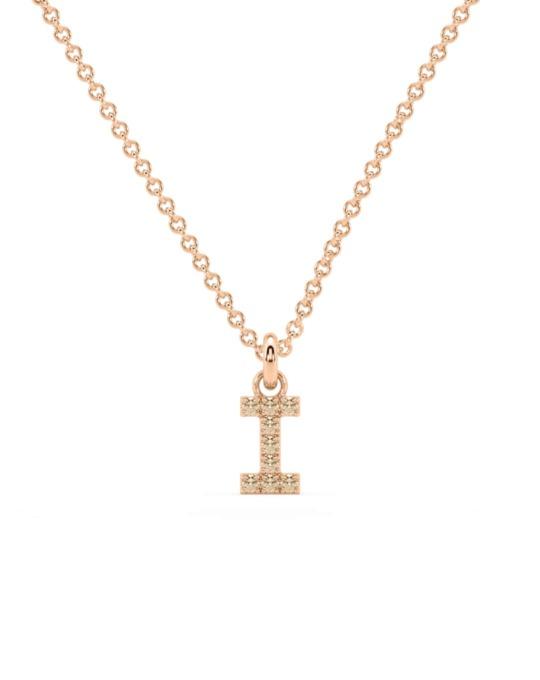 collar identity oro rosa diamantes marrones I rosich